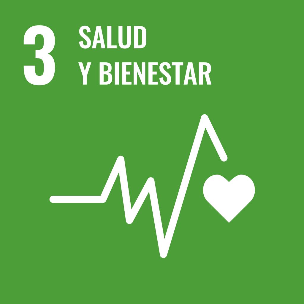 Icono del Objetivo de Desarrollo Sostenible Salud y bienestar