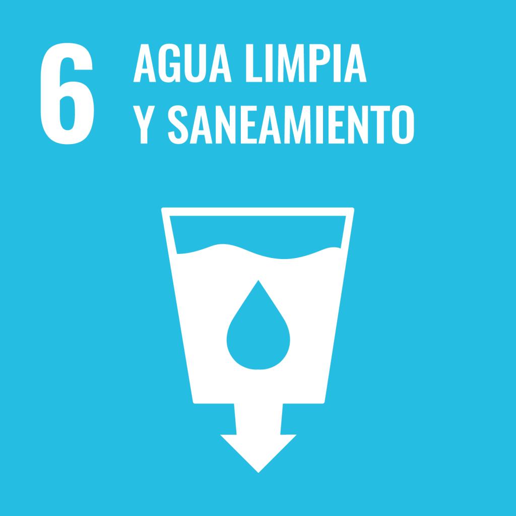 Icono del Objetivo de Desarrollo Sostenible Agua limpia y saneamiento