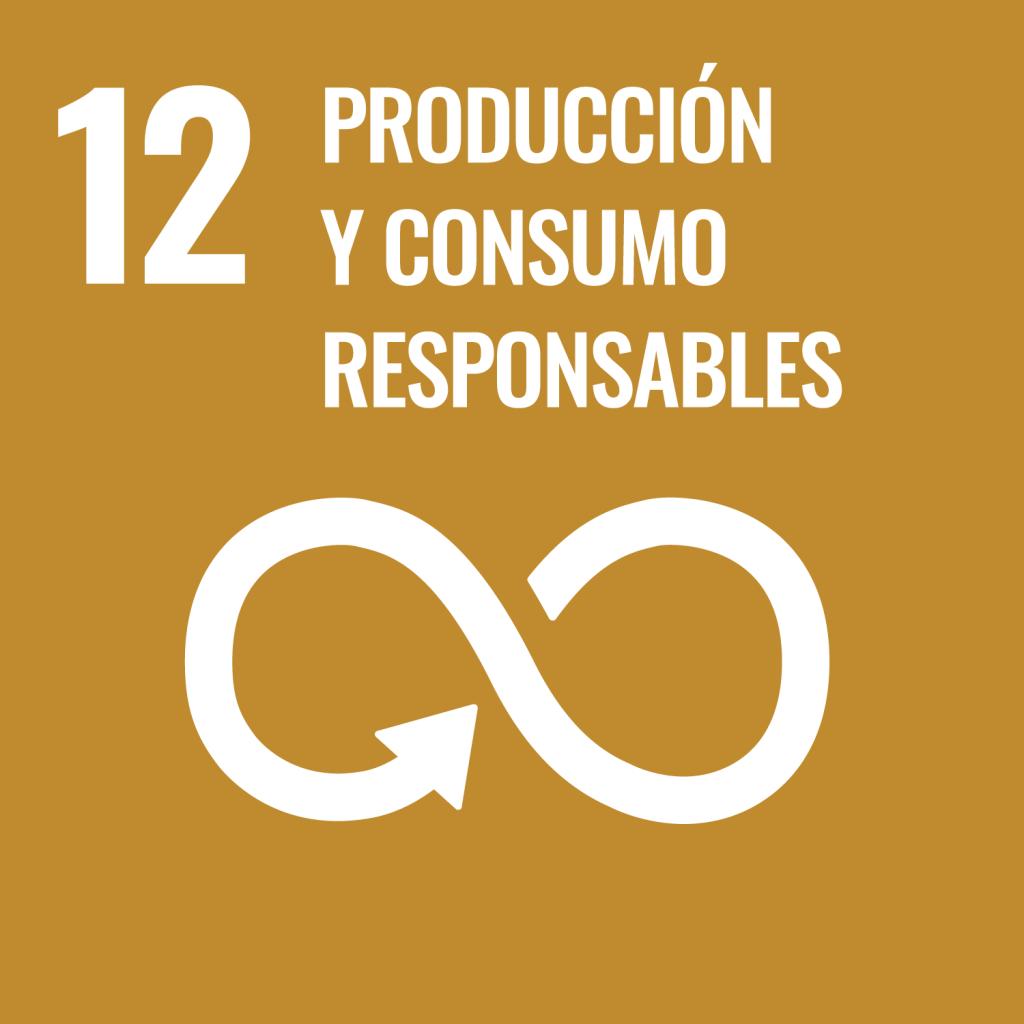 Icono del Objetivo de Desarrollo Sostenible Producción y consumo responsable