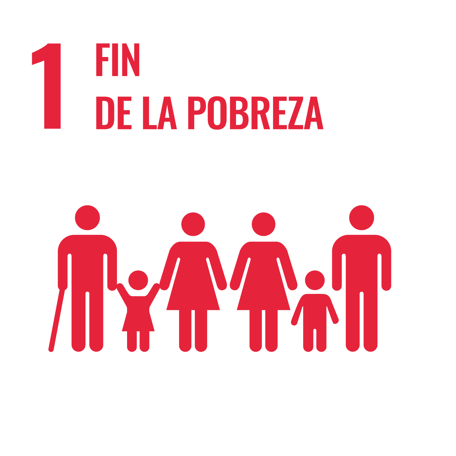 Icono del Objetivo de Desarrollo Sostenible Fin de la pobreza