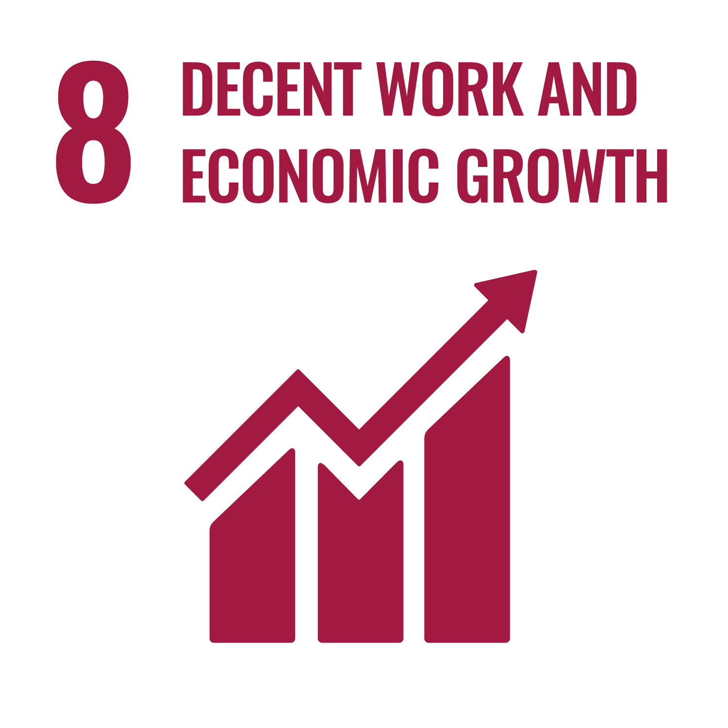 Icon for the Sustainable Development Goal Decent work and economic growth