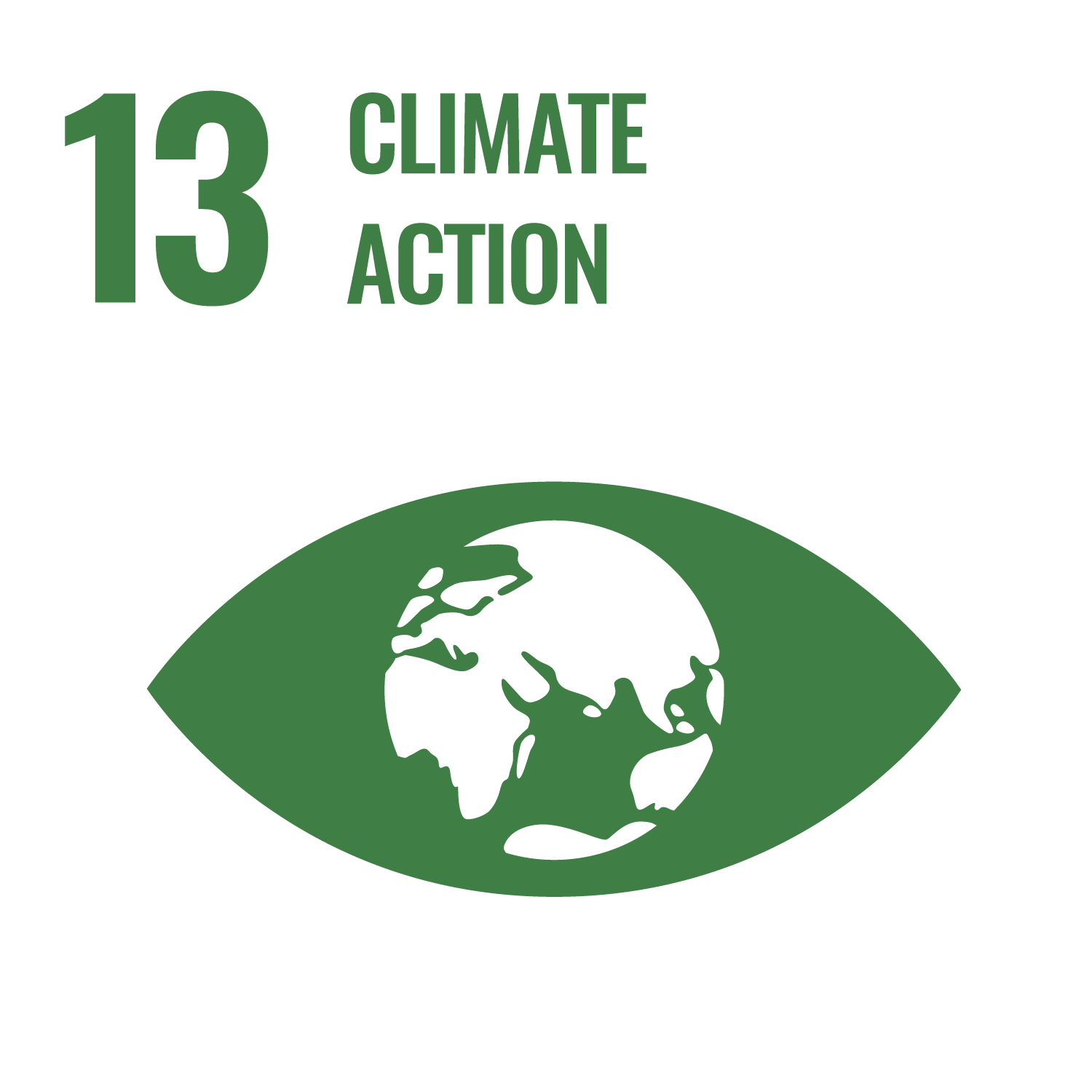 Icon for the Sustainable Development Goal Climate action