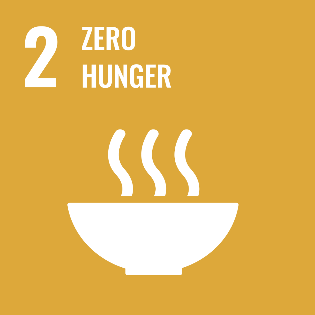 Icon for the Sustainable Development Goal Zero hunger