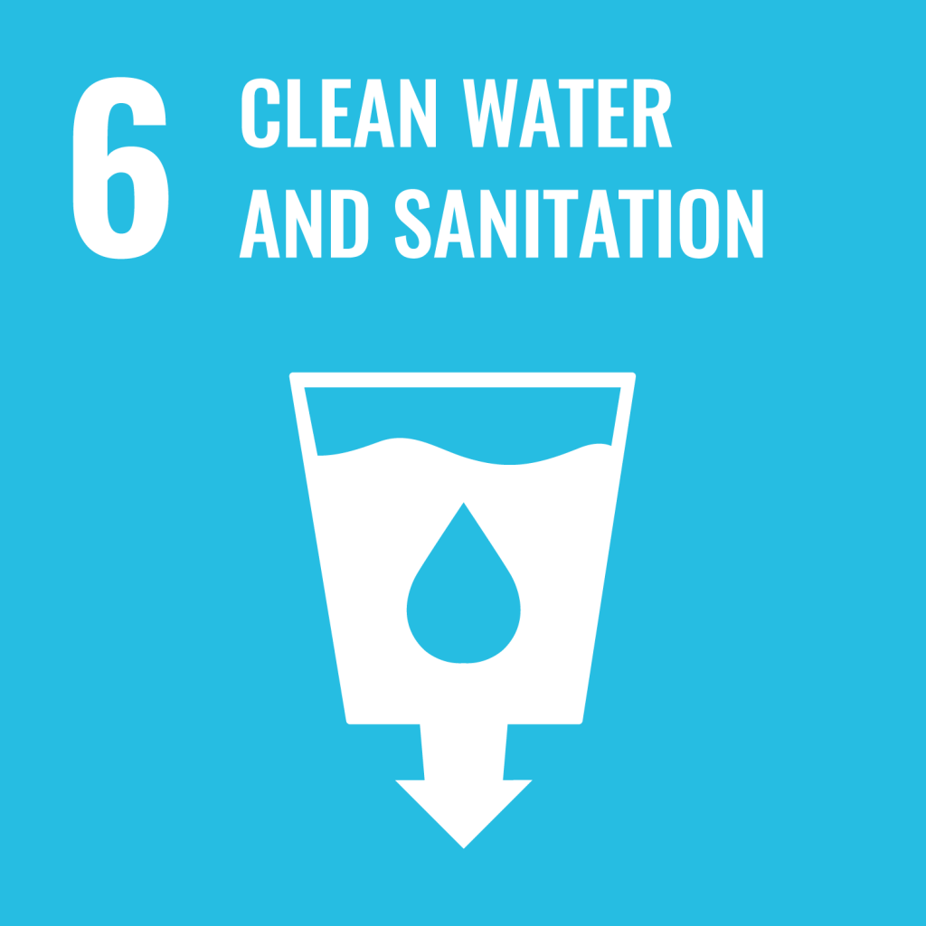 Icon for the Sustainable Development Goal Clean water and sanitation