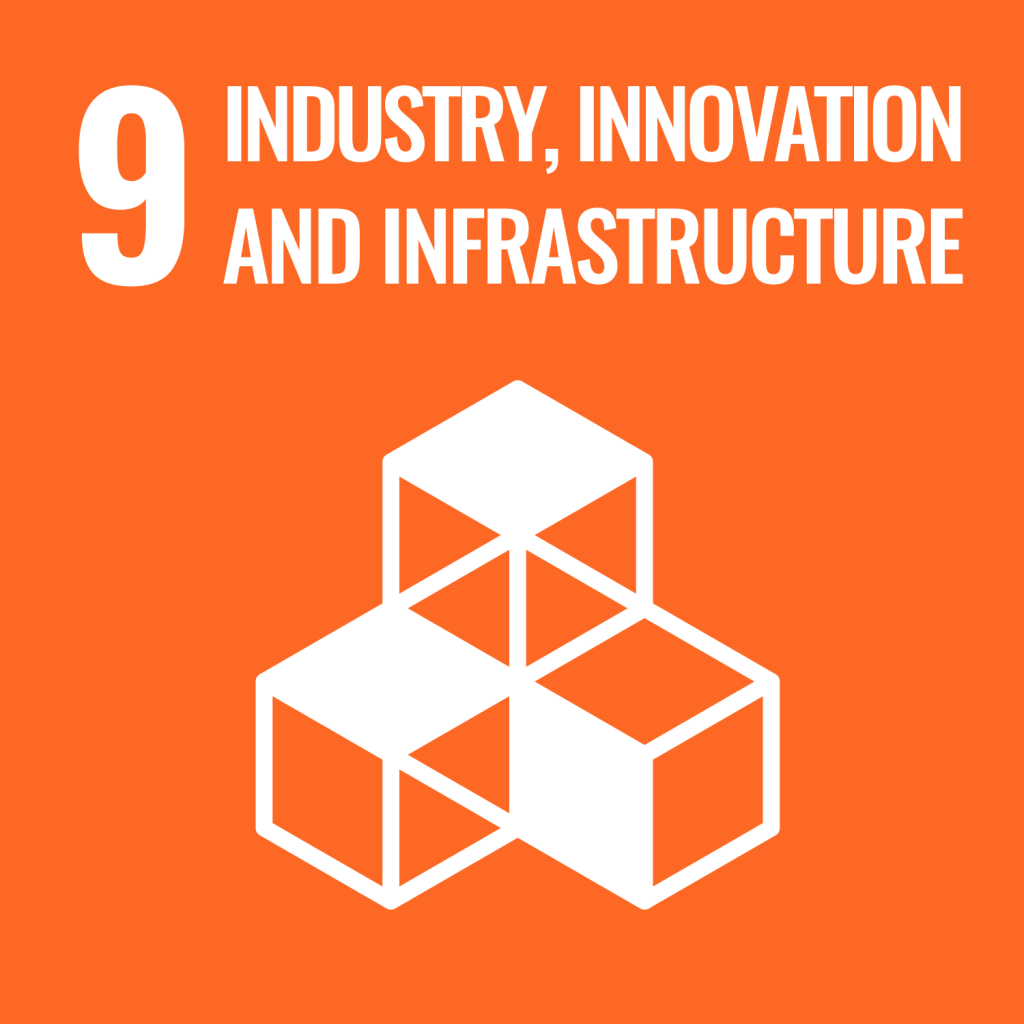 Icon for the Sustainable Development Goal Industry innovation and infrastructure
