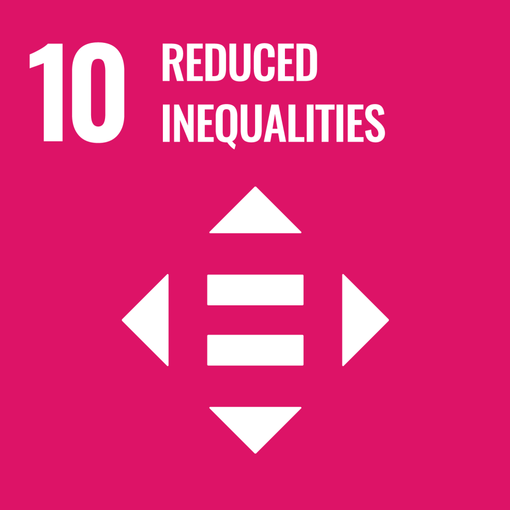 Icon for the Sustainable Development Goal Reduced inequalities