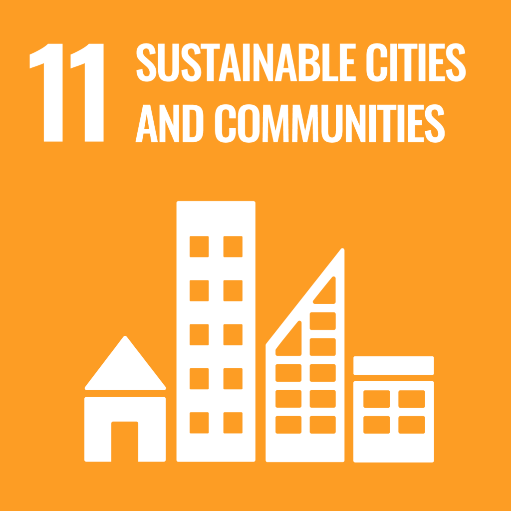 Icon for the Sustainable Development Goal Sustainable cities and communities
