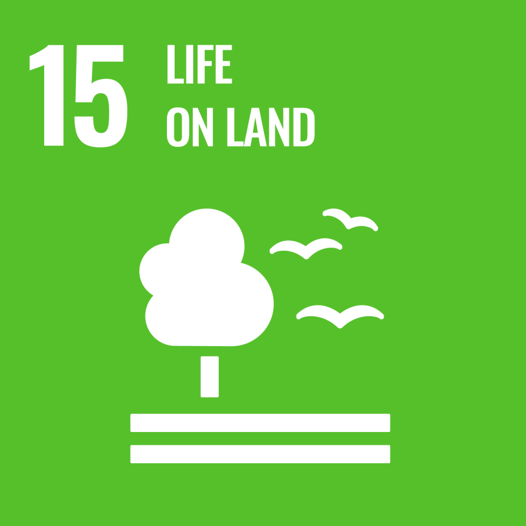 Icon for the Sustainable Development Goal Life on land