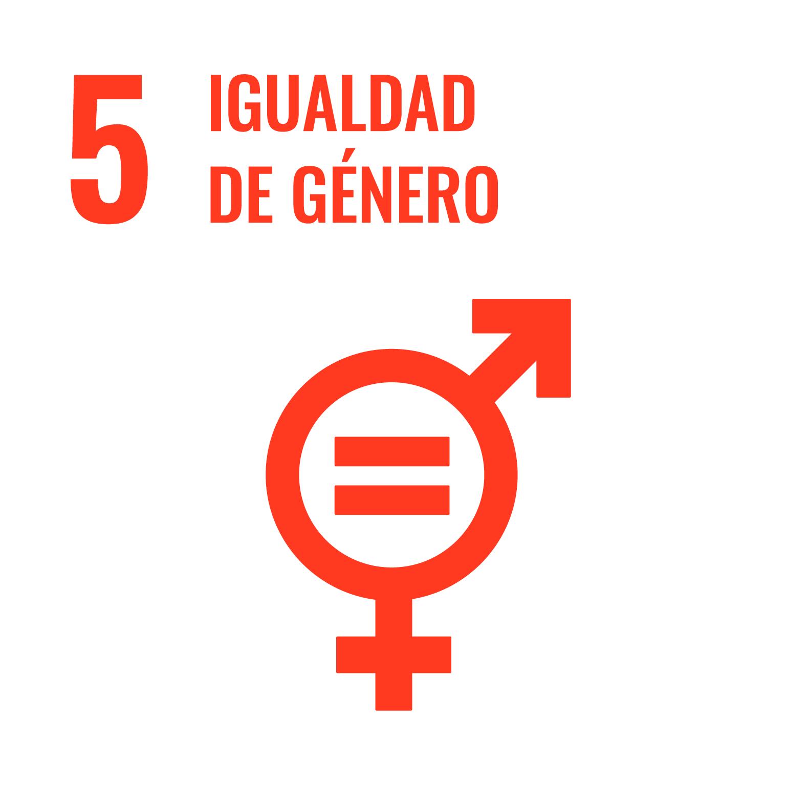 Icono del Objetivo de Desarrollo Sostenible Igualdad de género